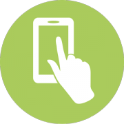 Icon User Experience Consulting, Smartphone, Hand